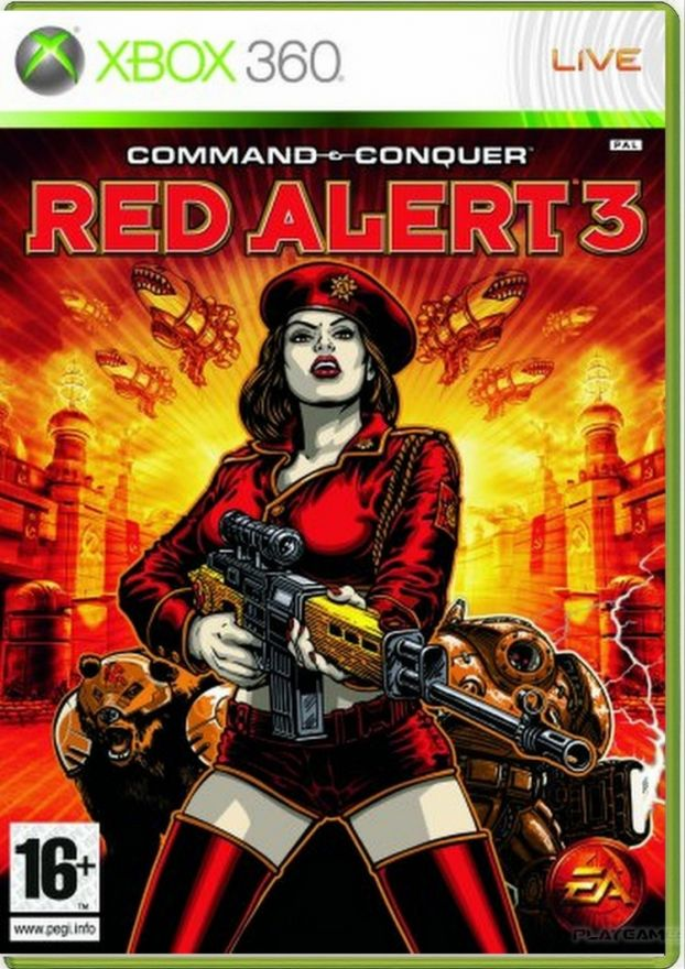 Игра Command & Conquer: Red Alert 3 (xbox360, русская версия)