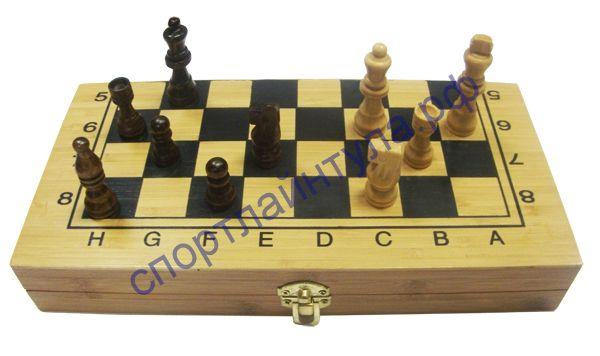 Шахматы бамбуковые B2412A