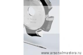 Фреза FESTOOL V-образная, пазовая, дисковая  HW 118x14-90°/Alu 491470