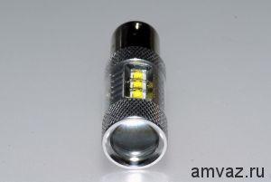 Светодиодная лампа 1156 6 CREE 1 контакт