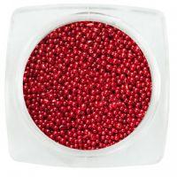 Бульонки для дизайна ногтей Красный 04