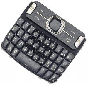 Клавиатура Nokia 302 Asha (black) Оригинал
