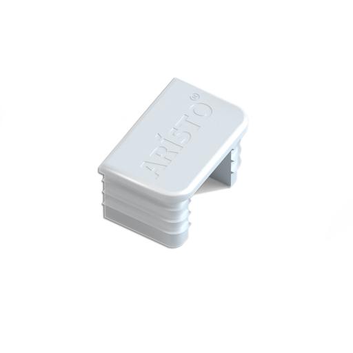 Заглушка для настенной направляющей Aristo, цвет белый