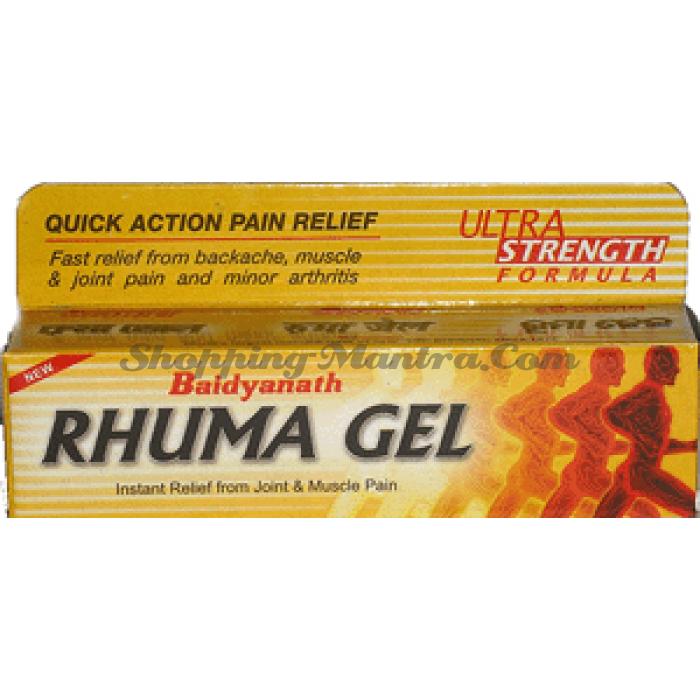 Рхума гель Байдьянатх против болей в мышцах и суставах | Baidyanath Rhuma Gel