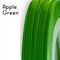 Нить для дизайна ногтей фольга, зелёная