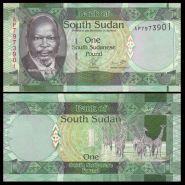 Южный Судан 1 фунт 2011 года ПРЕСС