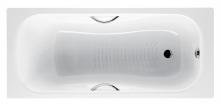 Ванна стальная Roca Princess N 170x70 с отверстиями для ручек
