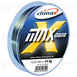 Леска Сlimax X-Max Mono (темно-зеленая) 100м 0,28мм 7,5 кг