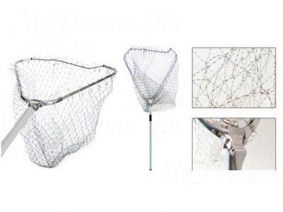 Подсачник RUBICON треугольный 2,30m 60x60, металл. крепление, капрон