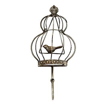Вешалка-крючок Птичий дворик, версия 2