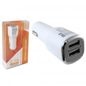 Автомобильное зарядное устройство (2USB, 2,1A)