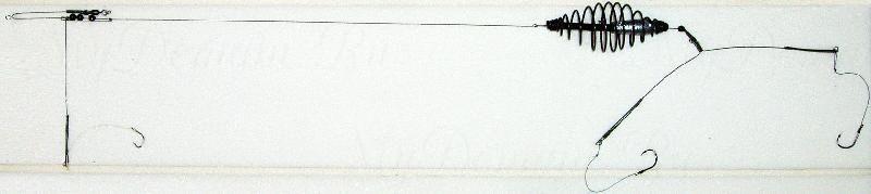 Донная оснастка, спираль, 15г, кр. №6