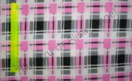 Клетка розовая полар-флис