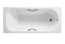 Ванна чугунная Roca Malibu 170x75 с отверстиями для ручек
