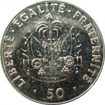 Гаити 50 сентим 2011 г.