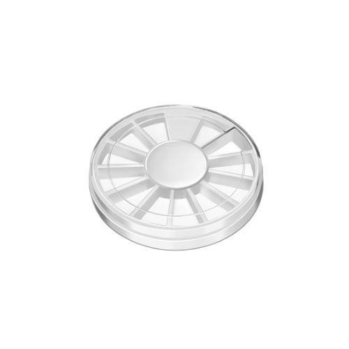 Каруселька с крышкой для ногтевого декора, диаметр 65 мм