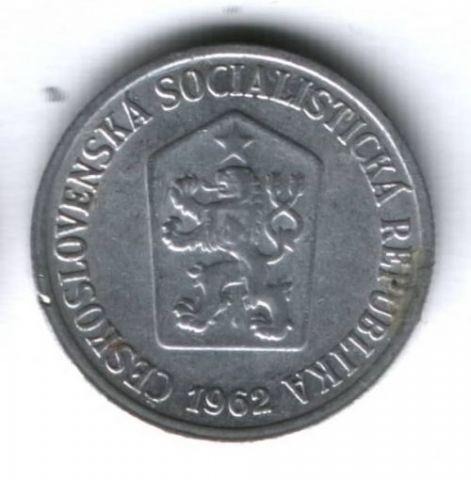 10 геллеров 1962 г. Чехословакия