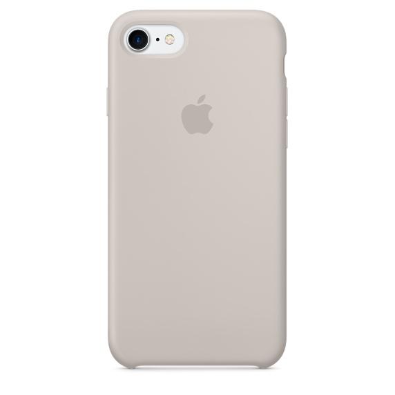 Silicone Case для iPhone 7,iPhone 8 (Бежевый)
