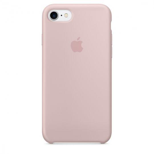 Silicone Case для iPhone 7,iPhone 8 (Розовый песок)