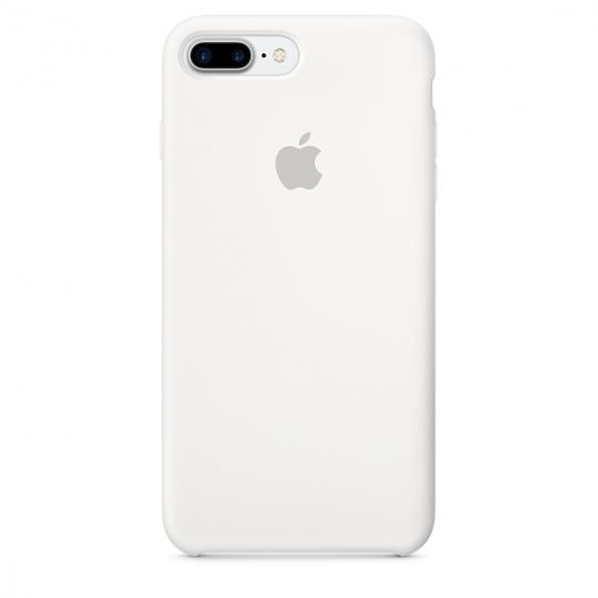 Silicone Case для iPhone 7+,iPhone 8+ (Белый)