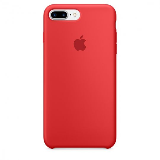 Silicone Case для iPhone 7+,iPhone 8+ (PRODUCT)RED