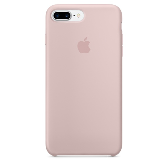 Silicone Case для iPhone 7+,iPhone 8+ (Розовый песок)