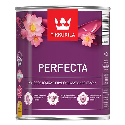 Износостойкая глубокоматовая краска TIKKURILA Perfecta - Перфекта