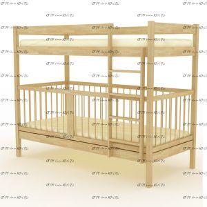 Кровать двухъярусная Скаут-1 Плюс