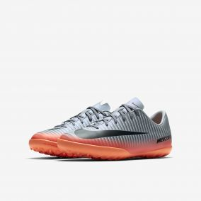 Детские шиповки NIKE MERCURIALX VAPOR XI CR7 TF 852487-001 JR