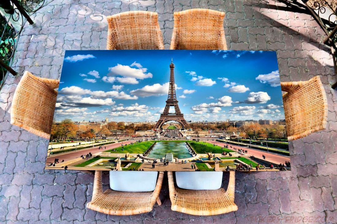Наклейка на стол - Париж 2