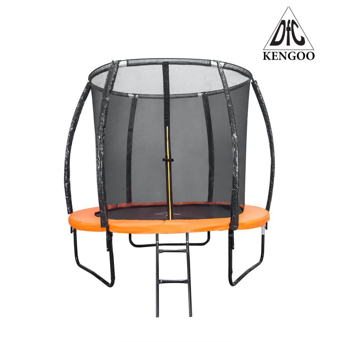 Батут с внутренней защитной сеткой - DFC Trampoline Kengoo 6FT-TR-E-BAS (1,83м)