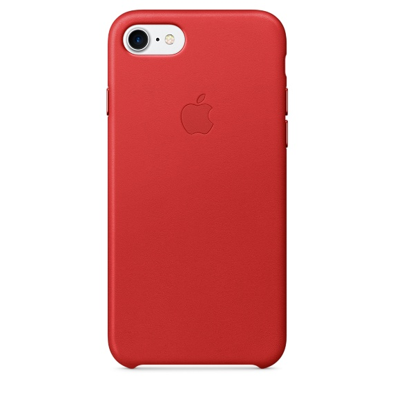 Apple Leather Case для iPhone 7/8 (PRODUCT)RED
