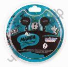 Наушники SmartBuy® MANGA, черные ( SBE-1010)  вакуум. текстильный шнур