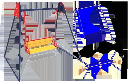 Качели-диван К-5