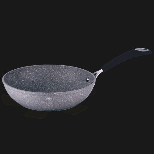 Сковорода-Вок 28см Berlinger Haus BH-1159 Grey Stone Touch Line
