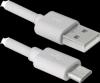 USB кабель USB08-10BH USB2.0 белый, AM-MicroBM, 3м