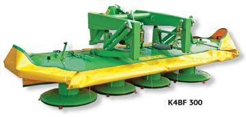 Косилки SaMASZ 2-х и 4-х барабанные фронтальные серии K2BF / K4BF