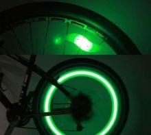 Светодиодный велосипедный  «катафот» (Зеленый)
