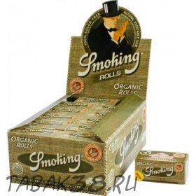 Бумага для самокруток РУЛОН Smoking Organic Rolls 44 mm