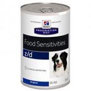 Hill's PD Canine z/d Food Sensitivities Диетические консервы для собак при пищевой аллергии (370 г)