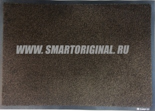 Смарт.ру Ковёр Каучук асептик 60х85 см чёрно-коричневый