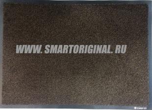 Смарт.ру Ковёр Каучук асептик 60 х 85 см чёрно-коричневый