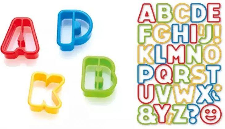 Формочки азбука DELICIA KIDS 34 шт Tescoma 630925