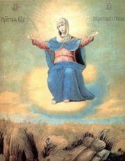 Икона Спорительница хлебов (копия старинной)