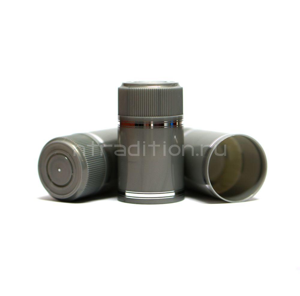 Колпачок с дозатором Гуала - серый 59 мм (10 шт.)