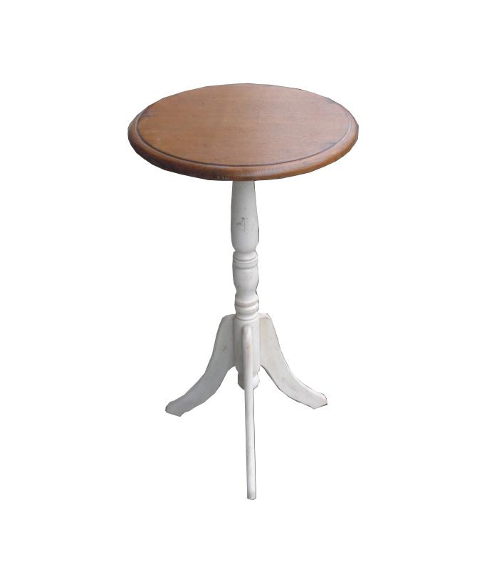 Приставной столик Mobilier de Maison Круглый Коричневый