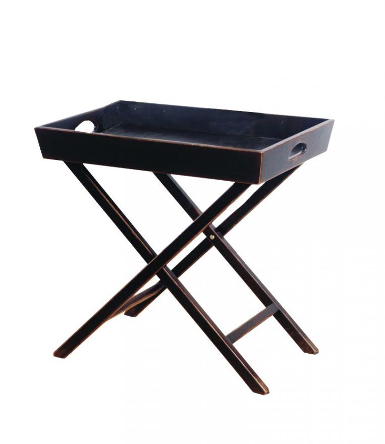 Раскладной столик Тёмный шоколад