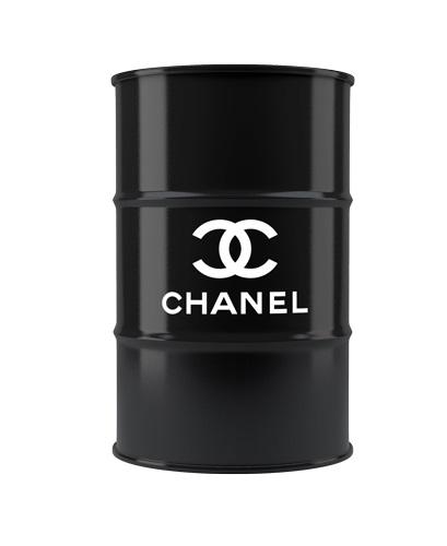 Декоративная бочка Chanel L