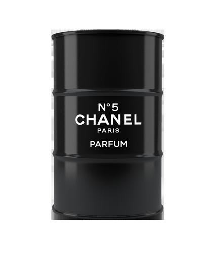 Бочка Chanel №5 black XL