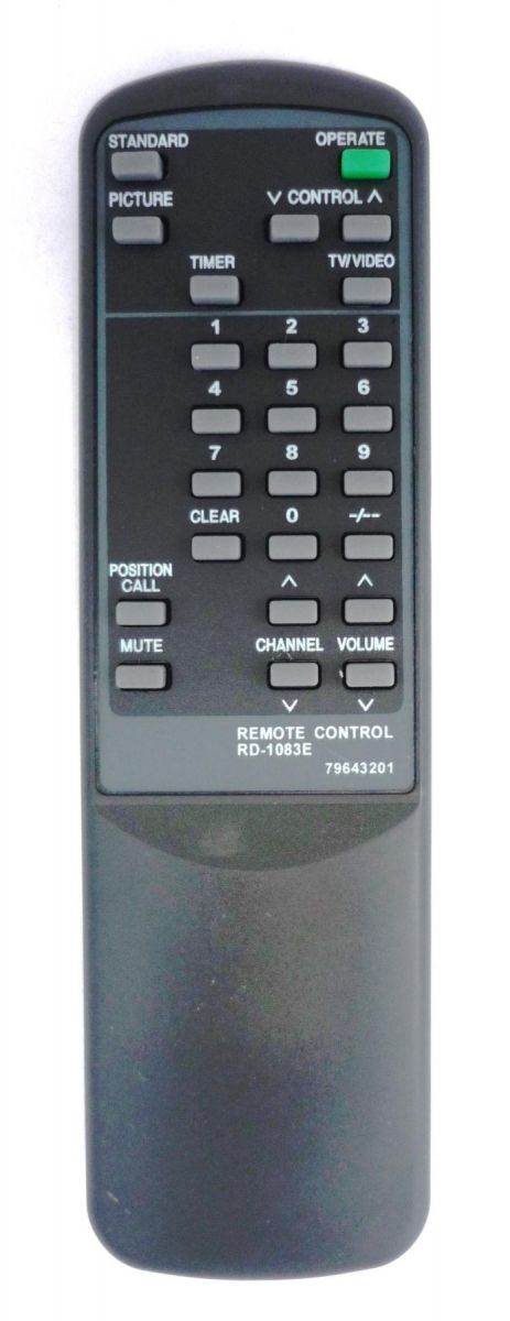 NEC RD-1083E (TV) (CT-1417, CT-1431PBN, CT-1450, CT-14ES, CT-2011, CT-2050ATM, FS-2181, FS-2185, FS-21RN, FS-5181, FS-5185, FS-6395, FS-6810NX, N-3453, N-3454, N-3455, N-4853, N-4854, SS-14DS, SS-25SB)